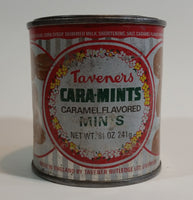 Vintage Taveners Cara Mints Caramel Flavored Candy Tin - Treasure Valley Antiques & Collectibles
