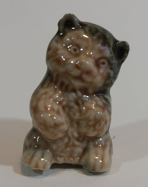 Red Rose Tea Bear Cub Wade Figurine - Treasure Valley Antiques & Collectibles