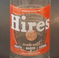 1950s Hires Root Beer 10 FL. Oz. Bottle - No City - Rare