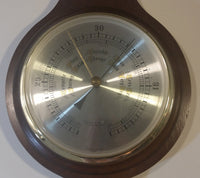 Mid-Century Japan made German Banjo Style Barometer Weather Station Like New - Treasure Valley Antiques & Collectibles