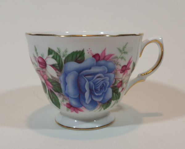 1960s Royal Vale Ridgway Potteries England Pattern 7871 Bone China Tea Cup