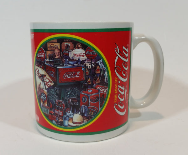 1996 Coca-Cola Collector's Edition Mug 1930-1940 Era Made by Enesco - 267155 - Treasure Valley Antiques & Collectibles