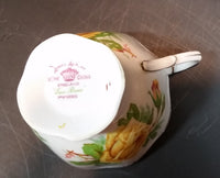 "1950s Royal Albert ""Tea Rose"" Yellow Bone China Footed Tea Cup 839056 - Treasure Valley Antiques & Collectibles"