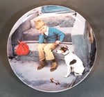 "Bing & Grondahl Kurt Ard 1984 ""Home is Best"" Limited Edition Collector Plate"