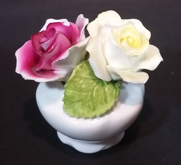 Vintage Aristocrat Bone China Handmade Porcelain Bouquet - Made in England - Treasure Valley Antiques & Collectibles