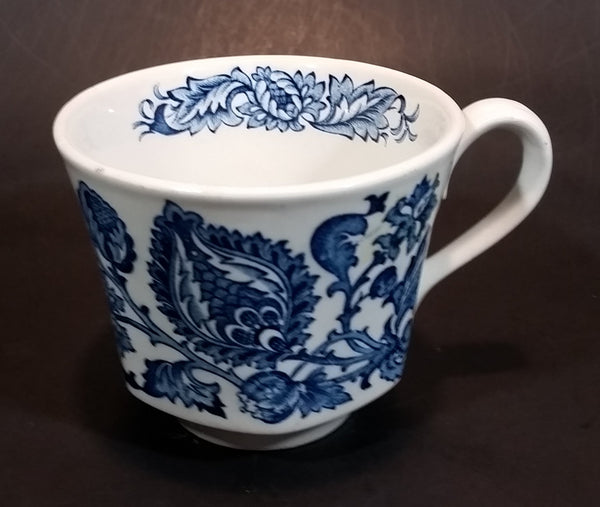 Vintage Made in England Blue Onion Wedgwood Style Teacup - Treasure Valley Antiques & Collectibles