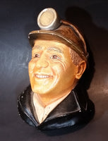 1990 Bossons Legend Products Chalkware Miner Face Wall Decor