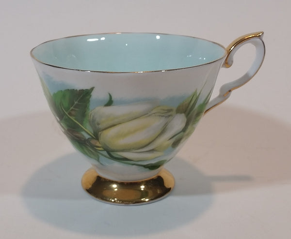 "1970s Paragon Fine Bone China ""Six World Famous Rose"" Harry Wheatcroft ""Virgo"" Teacup - Treasure Valley Antiques & Collectibles"