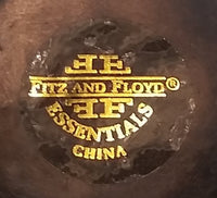 Retired Fitz and Floyd Essentials China Sang De Boeuf Temple Jar Without Lid - Treasure Valley Antiques & Collectibles