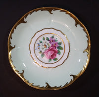 1952-1960 Paragon Fine Bone China England Mint with Mixed Flowers and Gold Trim Teacup Saucer