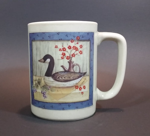 Vintage Rare 1970s Otagiri Canadian Goose Decoy Home Decor Scenery Ceramic Coffee Mug - Treasure Valley Antiques & Collectibles
