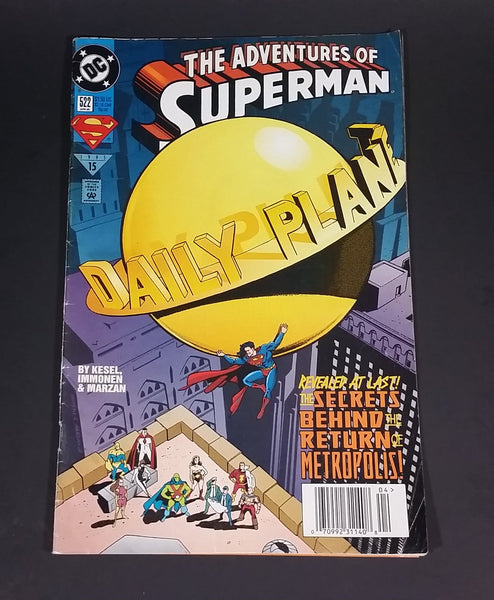 "DC Comics - The Adventures of Superman ""Daily Planet"" #522 April 1995 Comic Book - Treasure Valley Antiques & Collectibles"