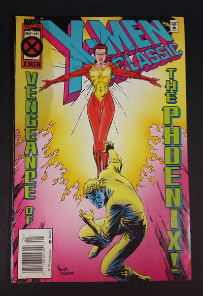 "Marvel Comics - X-Men Classic ""The Vengeance of The Phoenix"" Issue # 107 May 1995 - Treasure Valley Antiques & Collectibles"