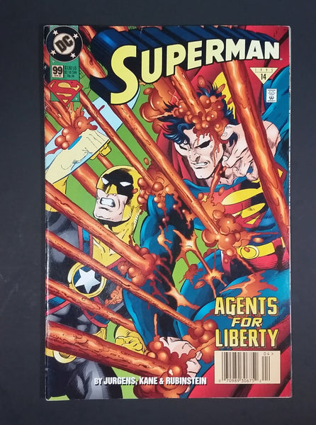 "DC Comics - Superman ""Agents For Liberty"" #99 April 1995 Comic Book - Treasure Valley Antiques & Collectibles"