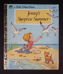 "1981 Jenny's Surprise Summer - Little Golden Books - 204-41 - ""C"" Edition - Collectible Children's Book - Treasure Valley Antiques & Collectibles"