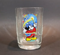 Collectible 2000 Mickey Mouse Epcot Theme Park Walt Disney World Anniversary McDonald's Glass Cup - Treasure Valley Antiques & Collectibles