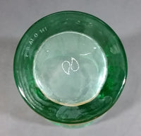 "McDonalds Collectible Coca-Cola Coke Soda Pop 1961 Nostalgic Green 5 3/4"" Tall Glass Cup - Treasure Valley Antiques & Collectibles"