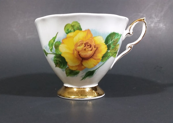 "1970s Paragon Fine Bone China ""Six World Famous Rose"" Harry Wheatcroft ""Mme Ch Sauvage"" Teacup - Treasure Valley Antiques & Collectibles"