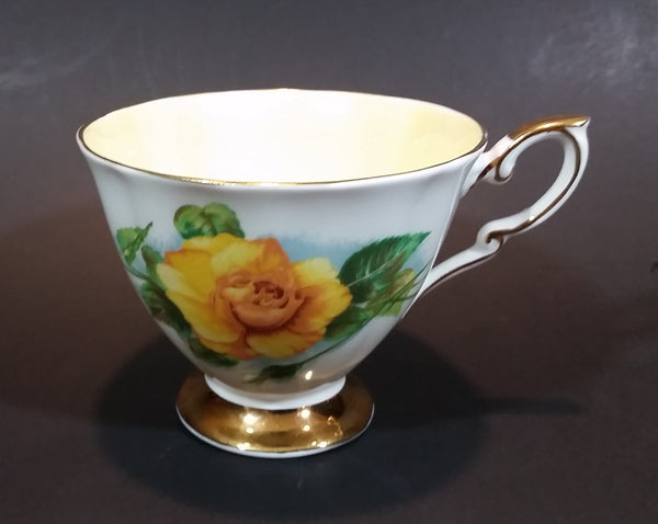 "1970s Royal Standard Fine Bone China ""Authentic World Famous Rose"" Harry Wheatcroft ""Mme Ch Sauvage"" Teacup - Treasure Valley Antiques & Collectibles"