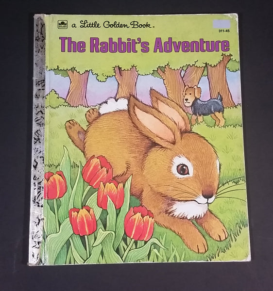 "1977 The Rabbit's Adventure - Little Golden Books - 311-45 - ""G"" Edition - Collectible Children's Book - Treasure Valley Antiques & Collectibles"