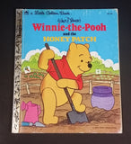 "1980 Walt Disney's Winnie The Pooh and the Honey Patch - Little Golden Books - 101-44 - Collectible Children's Book - ""H"" Edition"