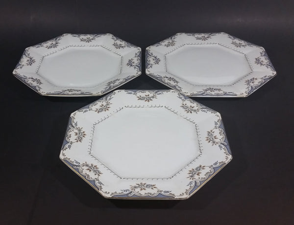"Vintage Mid-Century Harmony House Fine China Japan ""Versailles"" Pattern Dinner Plates Set of 3 - Treasure Valley Antiques & Collectibles"
