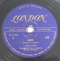 "1948 Vera Lynn ""Again"" (Newman, Cochran) & ""Lavender Blue (Dilly Dilly)"" (Morey, Daniel) 10"" 78RPM Record - Treasure Valley Antiques & Collectibles"