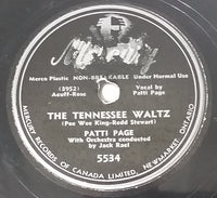 "1950 Patti Page ""Boogie Woogie Santa Claus"" & ""The Tennessee Waltz"" 10"" 78RPM Record"