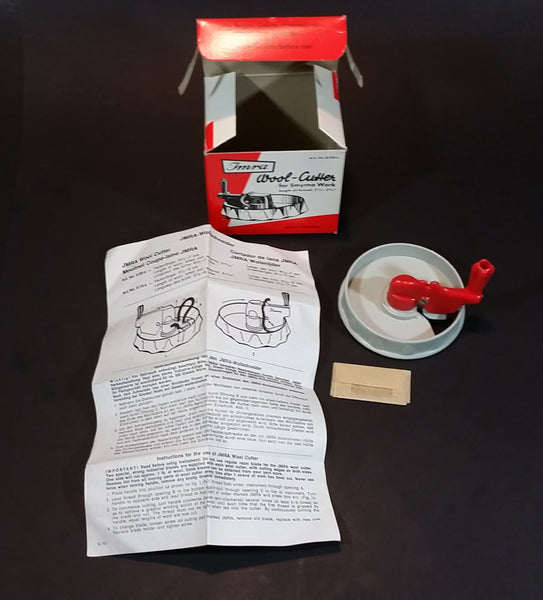 Vintage 1979 Jmra Wollschneider - Wool Cutter In Original Box with Instructions - Made in Germany. - Treasure Valley Antiques & Collectibles