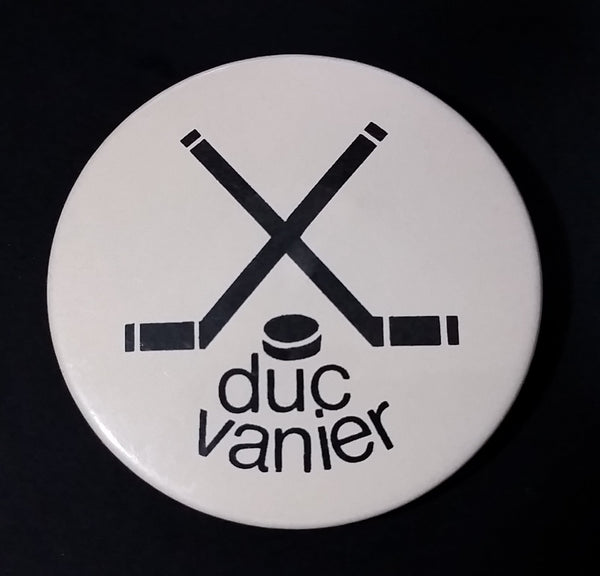 Vintage Duc Vanier Hockey Pin - Made in Quebec - Trophee H.B. - Treasure Valley Antiques & Collectibles