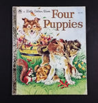 "1960 Four Puppies - Little Golden Books - 303-42 - ""M"" Edition - Collectible Children's Book - Treasure Valley Antiques & Collectibles"