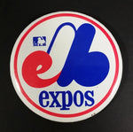 Vintage 1980s Montreal Expos MLB Baseball Collectible Button Pin - Treasure Valley Antiques & Collectibles