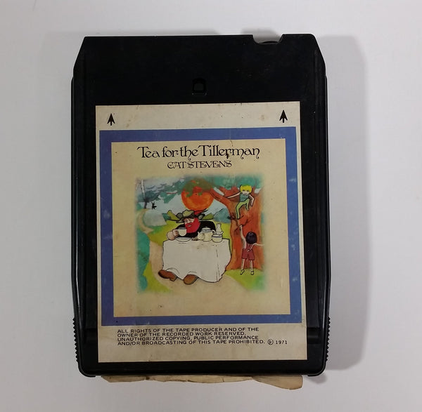 1971 Cat Stevens - Tea for the Tillerman 8 Track Tape - A&M Records of Canada 8T-4280 - Treasure Valley Antiques & Collectibles