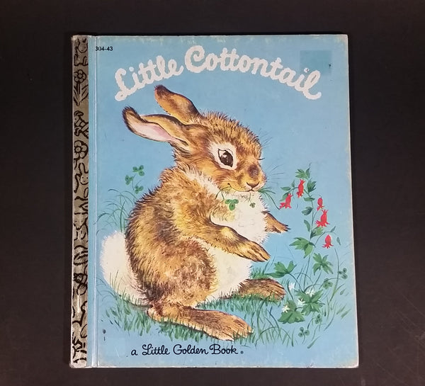 1982 Little Cottontail - Little Golden Books - 304-43 - Collectible Children's Book - 16th Print