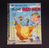 1980 The Little Red Hen - Little Golden Books - 480-21 - Collectible Children's Book - 21st Printing