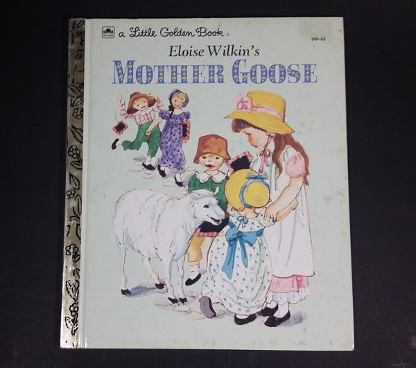 "Eloise Wilkin's Mother Goose - Little Golden Books - 300-43 - Collectible Children's Book - ""R Edition"" - Treasure Valley Antiques & Collectibles"