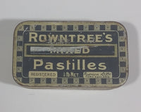 Rare Antique 1930s Rowntree's Mixed Pastilles Tin 1/4 lb Net. York England - Treasure Valley Antiques & Collectibles