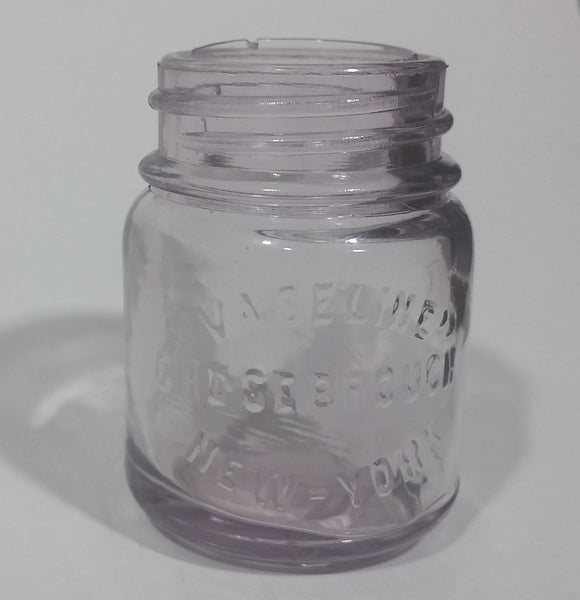 Antique Early 1900s Vaseline Jar Chesebrough. New York - Treasure Valley Antiques & Collectibles