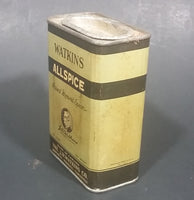 "1940s Watkins Allspice 3 1/4 Ounce Tin ""Purest Ground Spices"" - Still Full - Treasure Valley Antiques & Collectibles"