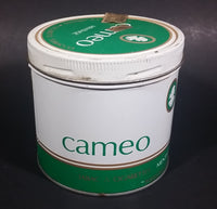 Vintage Rare Find Cameo Menthol Cigarette Tobacco Tin with Lid - Treasure Valley Antiques & Collectibles