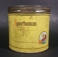 1960s Sportsman Extra Mild Cigarette Tobacco Tin - Treasure Valley Antiques & Collectibles