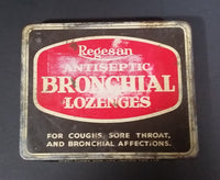 Vintage Boots Pure Drug Co. Ltd. Regesan Antiseptic Bronchial Lozenges Tin - Treasure Valley Antiques & Collectibles