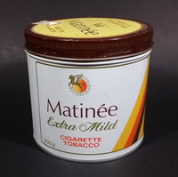 Vintage Late 1970s Matinee Extra Mild Cigarette Tobacco Tin with Lid - Treasure Valley Antiques & Collectibles