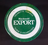 Vintage Late 1970s MacDonald Finest Virginia Cigarette Tobacco Export Tobacco Tin - Treasure Valley Antiques & Collectibles