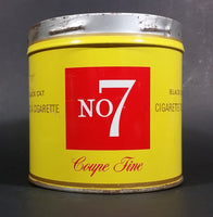 1960s Black Cat No. Number 7 Fine Cut Tobacco Tin - no lid