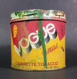 Vintage Vogue Mild 200g Tobacco Tin Canister English and French - Treasure Valley Antiques & Collectibles