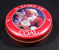 A Lump of Coal Tin Christmas Gift/Gag Gift Stocking Stuffer - Empty - Treasure Valley Antiques & Collectibles