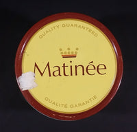 Vintage Early 1970s Matinee Cigarette Tobacco Tin Imperial Tobacco Bilingual Quality Guaranteed - Treasure Valley Antiques & Collectibles