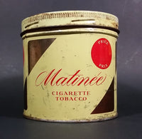 Vintage 1969 Matinee Cigarette Tobacco Tin Imperial Tobacco Bilingual - Treasure Valley Antiques & Collectibles