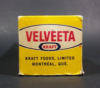 Vintage Rare Version 1960s Kraft Velveeta Cheese Cardboard Box and Lid 7¢ Coupon Version - Treasure Valley Antiques & Collectibles